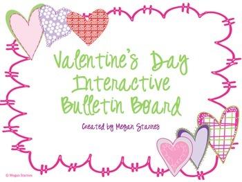 Valentine's Day Interactive Bulletin Board