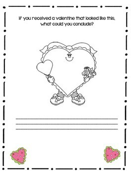 Valentine's Day Is...By Gail Gibbons-Close Reading Book Response Journal