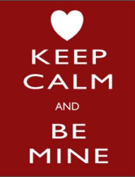 Valentine's Day Keep Calm Print