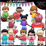 Valentine's Day Kids Clip Art - Valentine's Day Clip Art