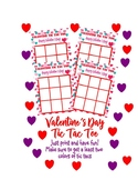 Valentines Day Kids Activities Games Tic Tac Toe Class par