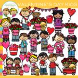 Kids Valentine Clip Art