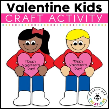 Valentine's Day Kids Cut and Paste