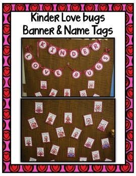 Free Valentine's Day  ~ Kinder Love Bugs Banner