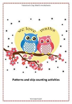 Valentine's Day Kindergarden Math's