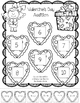 Valentine's Day Kindergarten Math & Literacy Printables