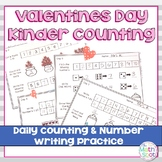 Valentines Day Kindergarten Math Worksheets