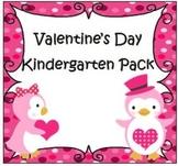 Valentine's Day Kindergarten Pack
