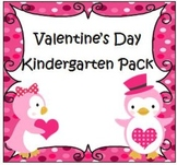 Valentine's Day Kindergarten Pack