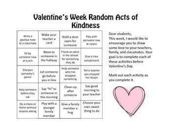 Valentine's Day Kindness