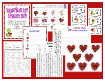 Valentine's Day LITERACY UNIT