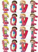 Valentine's Day LOVE Flip Card & Bookmarks