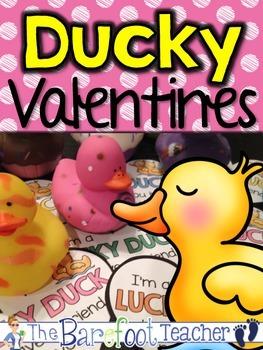 Valentines Day - LUCKY DUCK Valentines {FREEBIE}