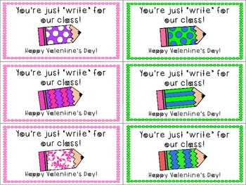 Valentine's Day Labels/Cards