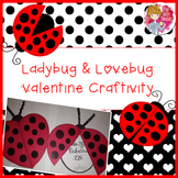 Valentine's Day Craft - Ladybug and Lovebug