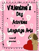 Valentine's Day Language Arts Activites