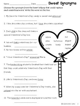 Valentine's Day Language Arts Printables FREEBIE Pack