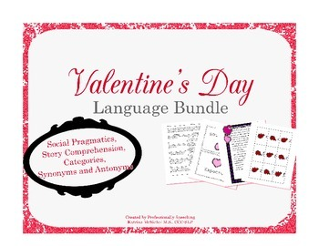 Valentine's Day Language Bundle