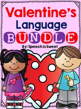 Valentine's Day Language Bundle for Speech Therapy