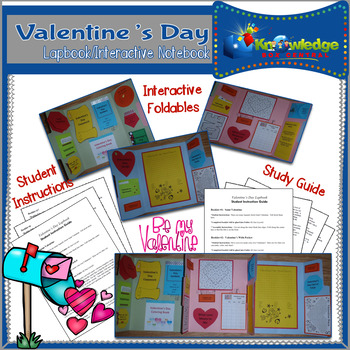 Valentine's Day Lapbook/Interactive Notebook