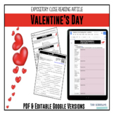 Expository Article - History of Valentine's Day {Google Digital Resource}