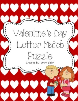 February Letter Match Puzzle