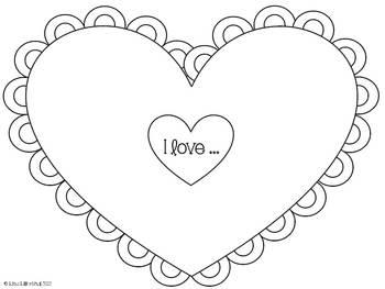 Valentine's Day Letter Writing ~ Freebie!