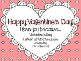 Valentine's Day Letter Writing ~ Freebie!