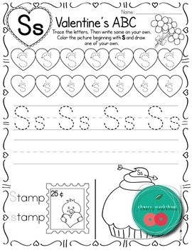 Valentines Day Letters Of the Alphabet