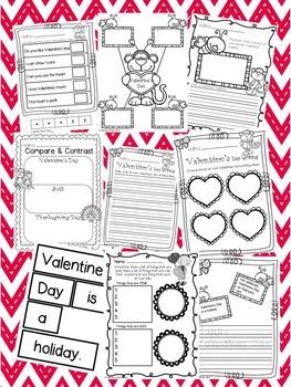 Valentine's Day Literacy
