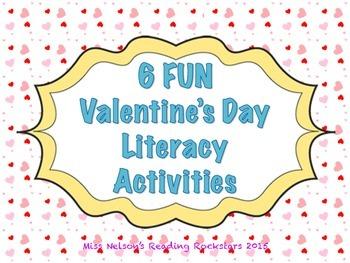 Valentine's Day Literacy Activities!
