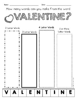 Valentine's Day FREEBIE Pack!  {Grades 1-3}