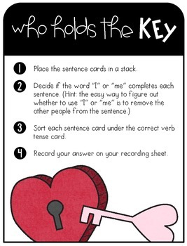 Valentine's Day Literacy Activities - You're Just Write for Me