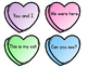 Valentine's Day Word Work Activities for small groups and centers