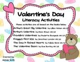 Valentine's Day Literacy Activity Pack