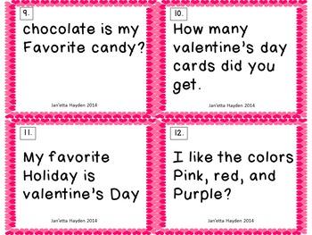 Valentine's Day Literacy Bundle