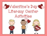 Valentine's Day Literacy Center Activities