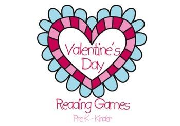 Valentine's Day Literacy Centers 2 Pre-K & Kinder