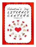 Valentine's Day Literacy Centers, Grades 3-4