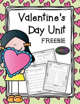 Valentine's Day Activities FREE
