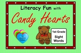 Valentine's Day Literacy Fun with Candy Hearts - 1st Grade