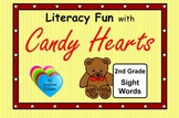 Valentine's Day Literacy Fun with Candy Hearts - 2nd Grade