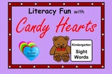 Valentine's Day Literacy Fun with Candy Hearts - Kindergar