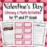 Valentine's Day Literacy and Math Centers