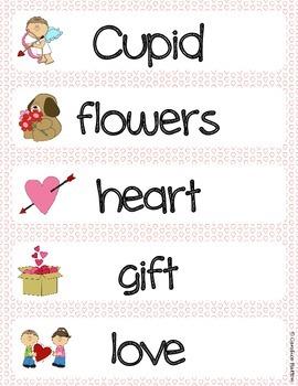 Valentine's Day Literacy & Math Center Bundle