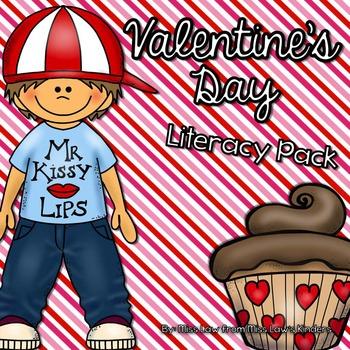 Valentine's Day Literacy Pack