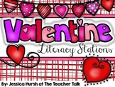Valentine's Day Literacy Stations