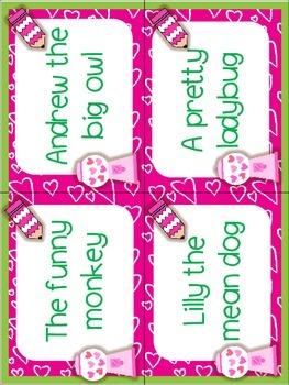 Valentines Day Literacy Stations
