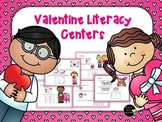 Valentine's Day Literacy Work Stations