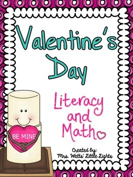 Valentine's Day Literacy and Math